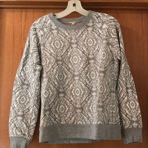 Jcrew Printed Sweatshirt